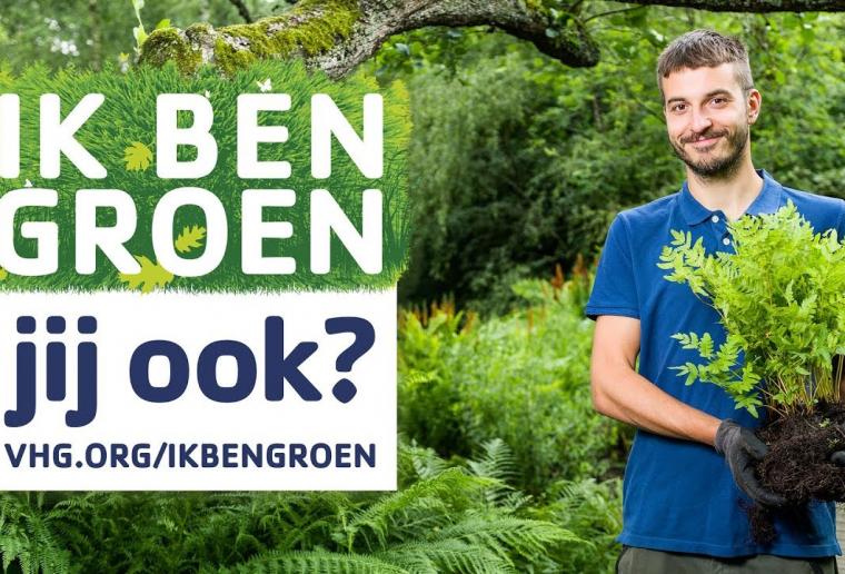 VHG-campagne Ik ben groen! Jij ook?