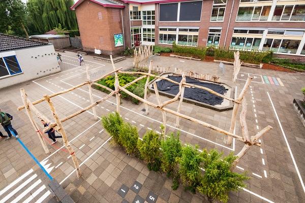 Groen Schoolplein Montessorischool Aan de Basis